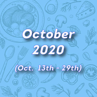 October Hot Lunches 2020